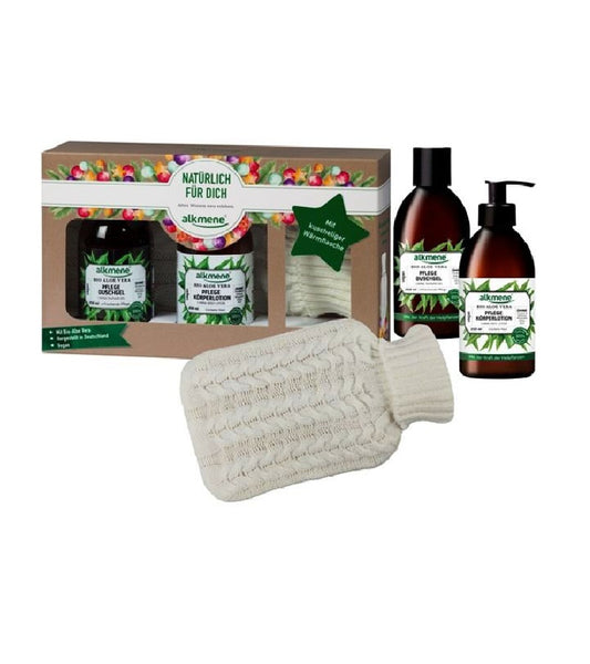Alkmene Power of Medicinal Plants Gift Set +Cuddly Hot Water Bottle - Eurodeal.shop