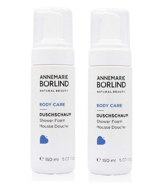 2xPack ANNEMARIE BÖRLIND Body Care Shower Foam for Women - 300 ml