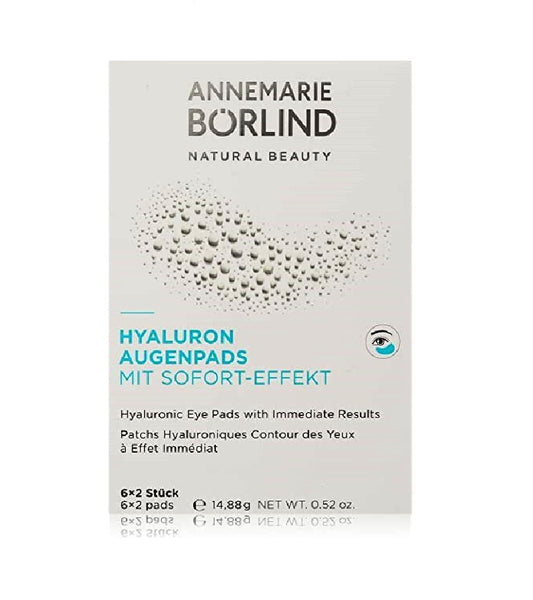 ANNEMARIE BÖRLIND Hyaluron Eye Pads for Women -12 Pcs