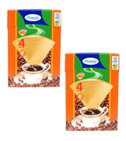 200 AROMATA Super Premium No 4 Coffee Filter Cones (2x100-packs) *FREE SHIPPING* - Eurodeal.shop