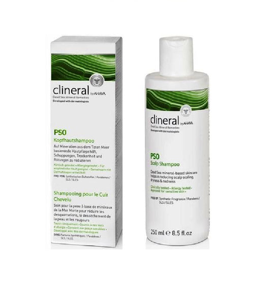 clineral PSO Scalp Shampoo - 250 ml - Eurodeal.shop