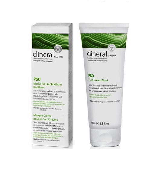 clineral PSO Mask for Sensitive Scalp - 200 ml - Eurodeal.shop