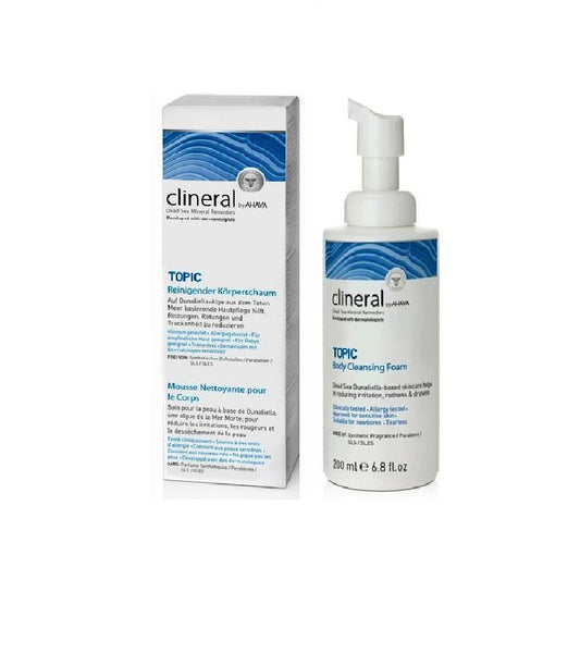 clineral TOPIC Cleansing Body Foam - 200 ml - Eurodeal.shop