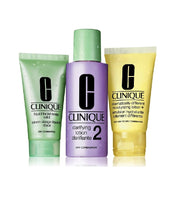 Clinique 3-phase System Care Intro Kit HT 2 Face Care Set