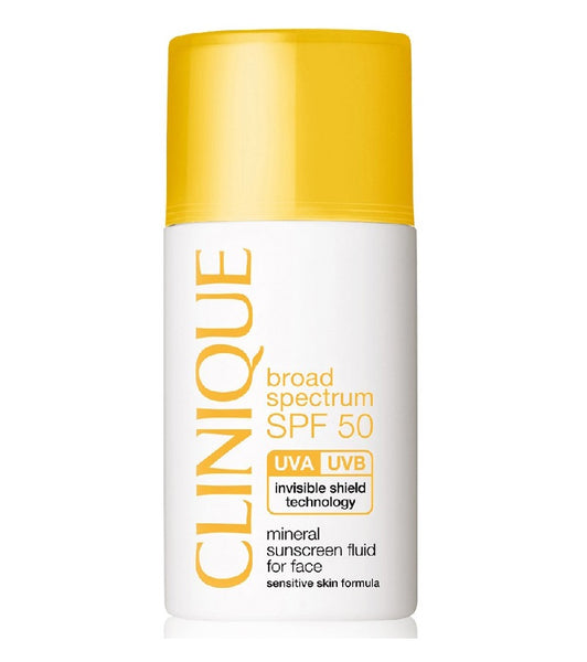 CLINIQUE Broad Spectrum Mineral Sunscreen SPF 50 Face Sun Lotion - 30 ml