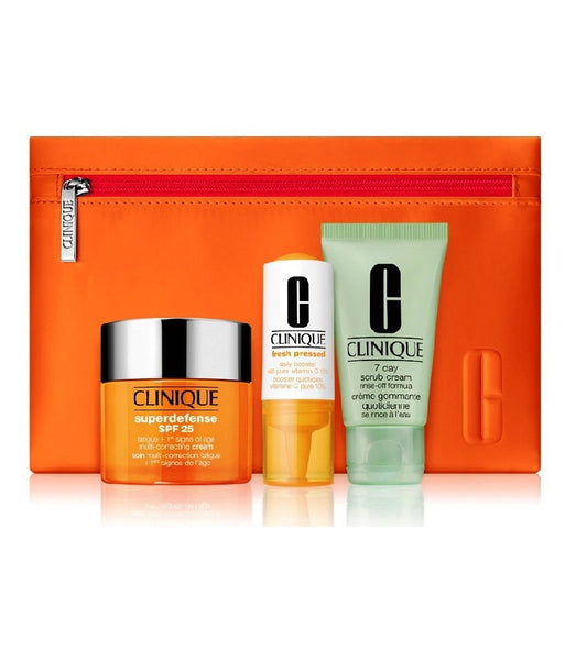 CLINIQUE Superdefense Value Face Care Gift Set
