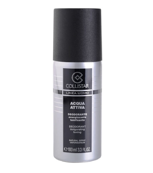 Collistar Acqua Attiva Deodorant Spray for Men - 100 ml