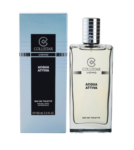 Collistar Acqua Attiva Eau de Toilette for Men 50 or 100 ml