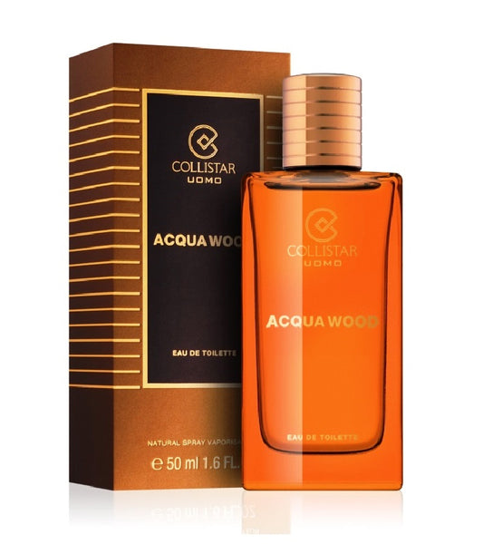 Collistar Acqua Wood Eau de Toilette for Men -50 or 100 ml