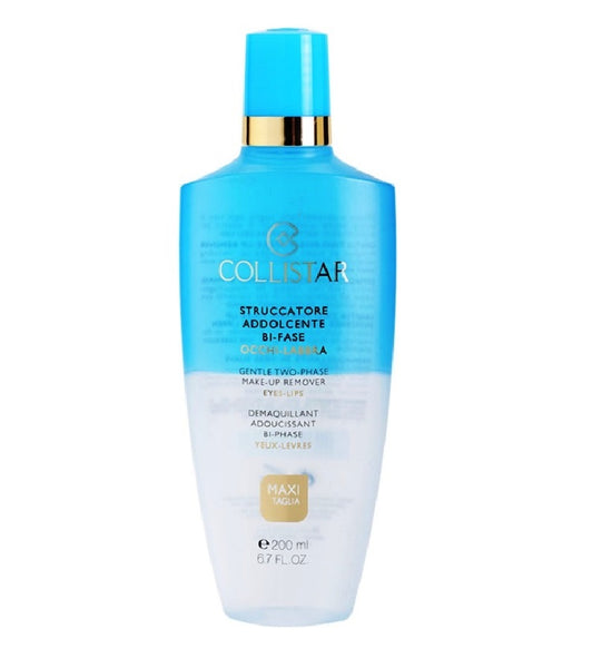 Collistar Makeup Remover/Cleanser for Waterproof Makeup on Eyes & Lips - 200 ml
