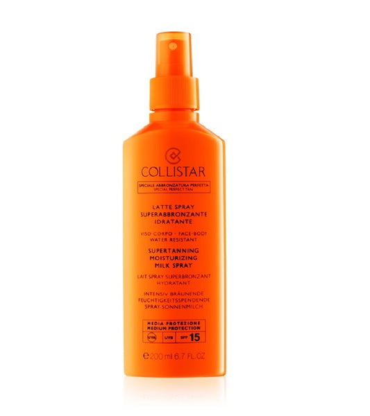 Collistar Sun Protection SuperTanning Moisturizing Dry Oil SPF 6