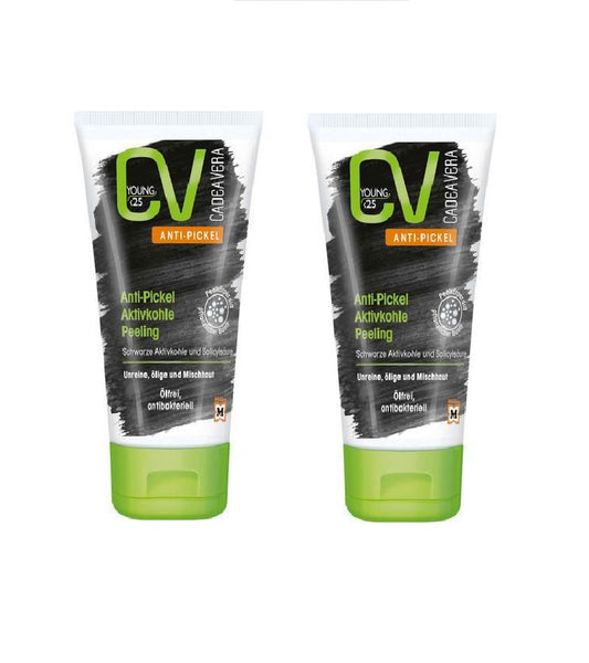 2xPack CV (CadeaVera) Young Anti-Pickel Peeling Gel - Eurodeal.shop