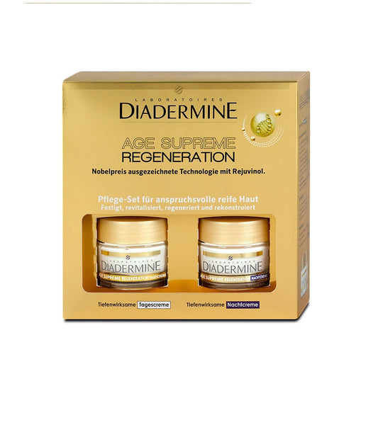 Diadermine Age Supreme Regeneration Deeply Penetrating Day & Night Cream Set - Eurodeal.shop
