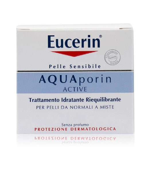 Eucerin AQUAporin ACTIVE Normal to Combination Skin Face Day Cream - 50 ml