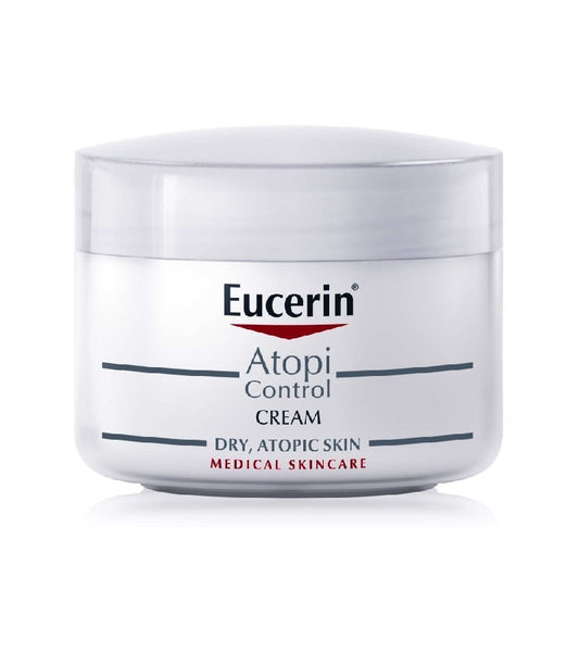 Eucerin AtopiControl Cream for Dry and Itchy skin - 75 ml