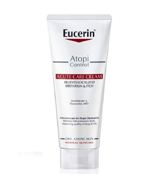 Eucerin AtopiControl Acute Care Soothing Cream for Atopic Skin - 100 ml