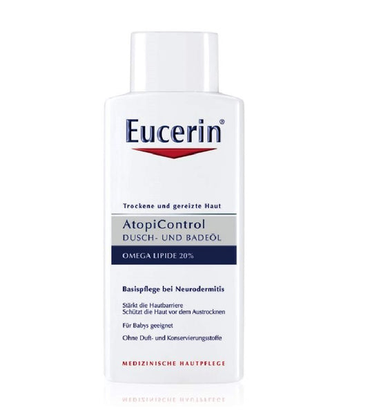 Eucerin AtopiControl Shower and Bath Oils - 400 ml