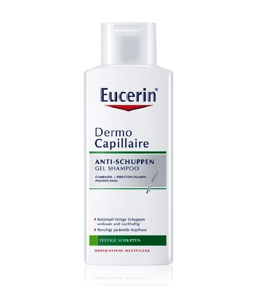 Eucerin DermoCapillaire Dandruff Shampoo for Oily Hair - 250 ml