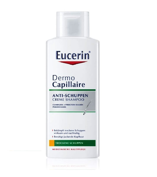 Eucerin DermoCapillaire Anti-Dandruff Cream Shampoo - 250 ml