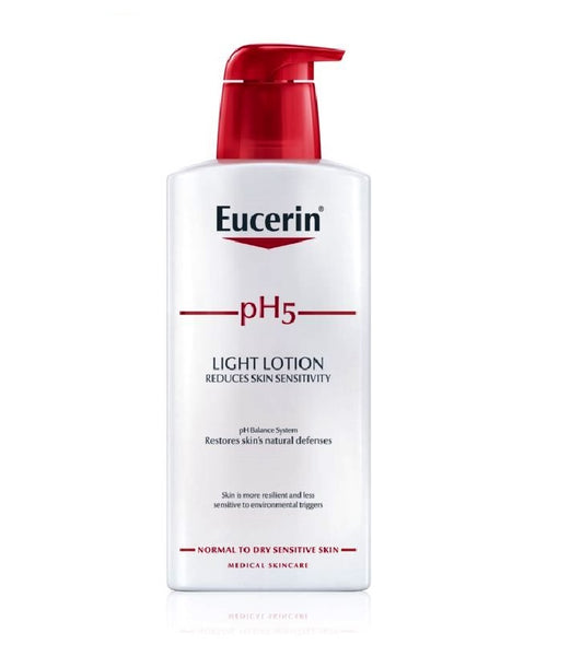 Eucerin pH5 Light Body Lotion for Dry Sensitive Skin - 400 ml
