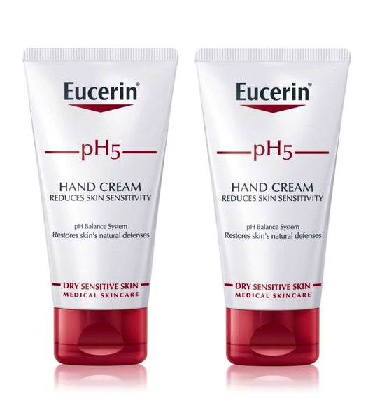 2xPack Eucerin pH5 Regenerating Hand Cream - 150 ml