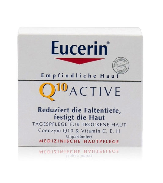 Eucerin Q10 Active Dry Skin Face Day Cream - 50 ml