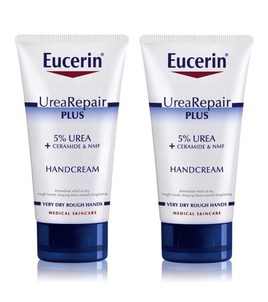 2xPack Eucerin UreaRepair PLUS Hand Cream for Dry Skin - 150 ml
