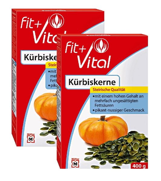 2xPack Fit+Vital Pumpkin Seeds - 800 g