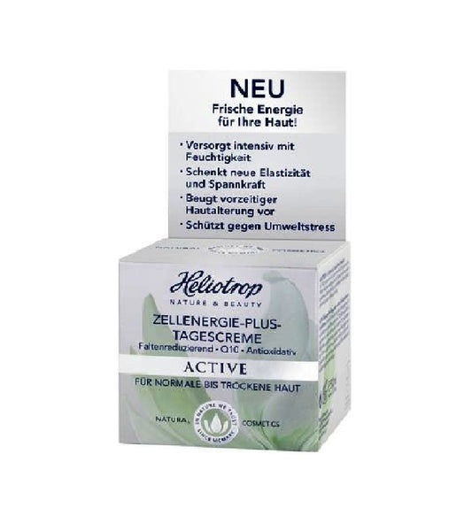 Heliotrop ACTIVE Cell Energy Plus Day Cream - 50 ml - Eurodeal.shop