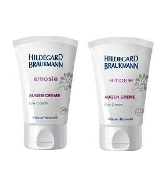 2xPack Hildegard Braukmann Emoise Eye Cream for Men and Women - 60 ml