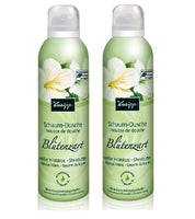 2xPack Kneipp 'Delicate Flowers' White Hibiscus & Shea Butter Shower Foam - 400 ml