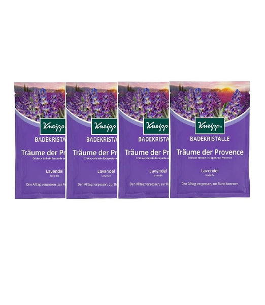 4x Pack Kneipp Dreams of Provence Bath Crystals - Eurodeal.shop