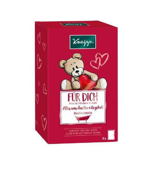 Kneipp Gift Pack for You: Four Different Varieties of Bath Crystals