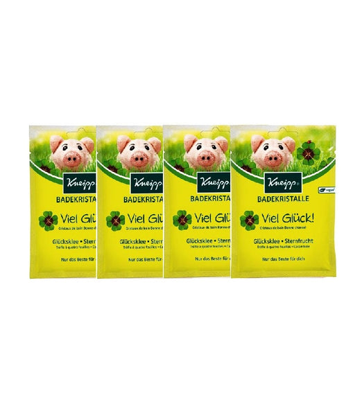 4x Pack Kneipp 'Good Luck' Bath Crystals - Eurodeal.shop