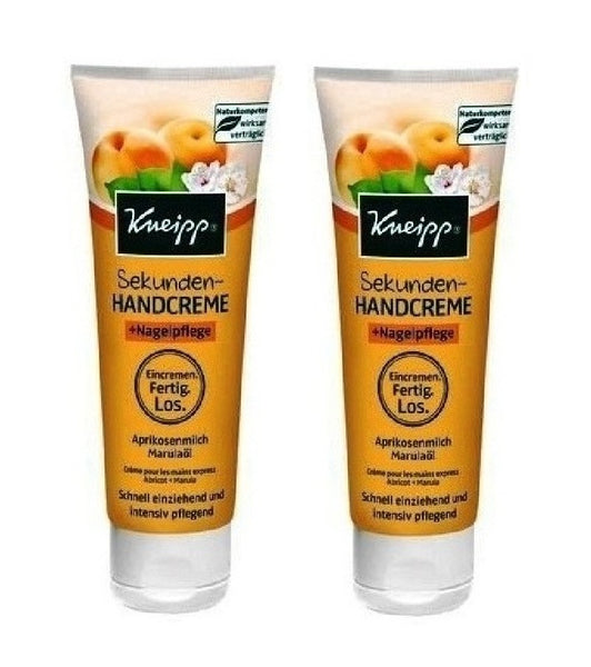2xPack Kneipp Seconds Hand Cream + Nail Care - 150 ml