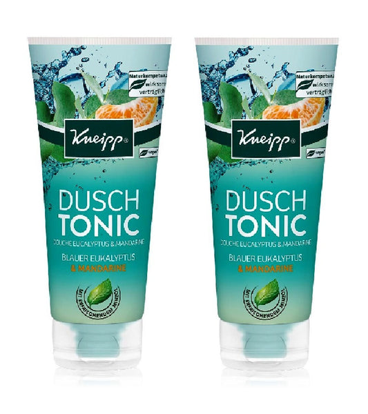 2xPack Shower Tonic Blue Eucalyptus & Mandarin Unisex Shower Gel