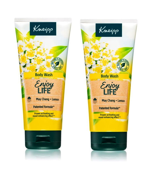 2xPack Kneipp Enjoy Life May Chang & Lemon Energizer Shower Gel - 400 ml