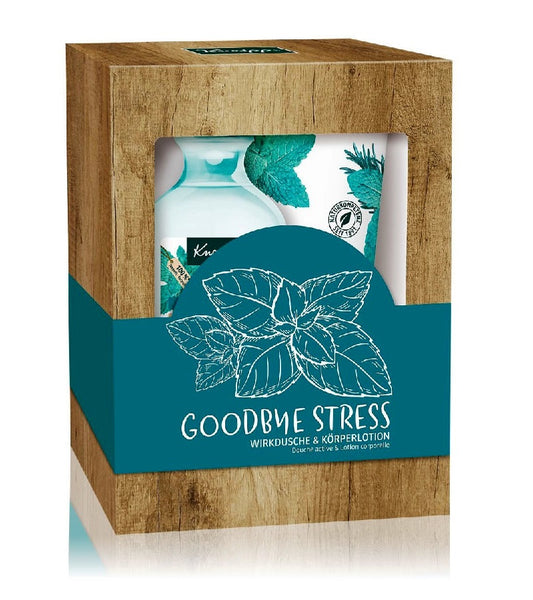 Kneipp Goodbye Stress Collection Shower Gel and Lotion Body care Set