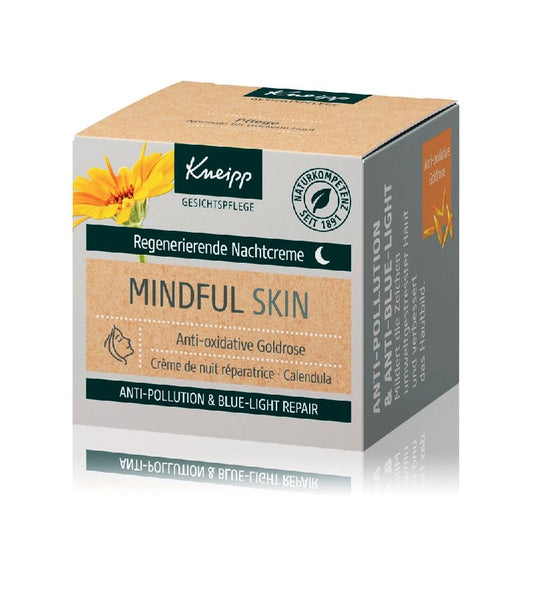 Kneipp Mindful Skin Anti-Oxidative Gold Rose Night Cream - 50 ml