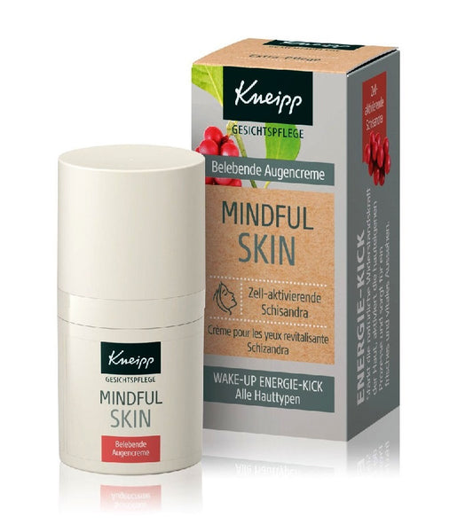 Kneipp Mindful Skin Cell-Activating Schisandra Eye Cream - 15 ml