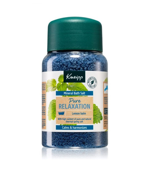 Kneipp Pure Relaxation Lemon Balm Bath Salt with Minerals - 500 g