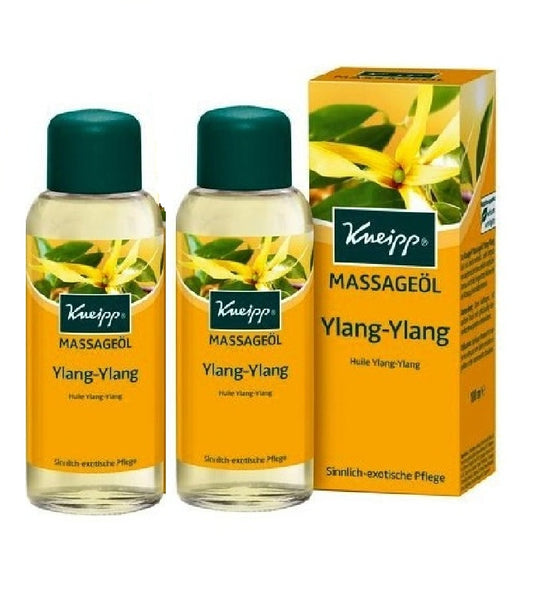 2xPack Kneipp Ylang-Ylang Massage Oil - 200 ml