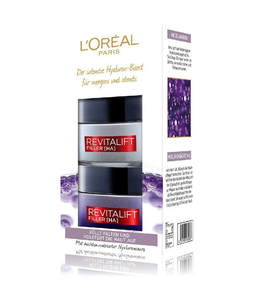 L'Oréal Paris Revitalift Filler [HA] Face Care Set for Women