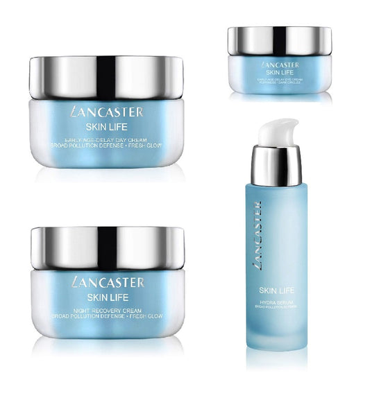 Lancaster Skin Life Anti-aging Day+Night+Eye Creams+Facial Serum Set