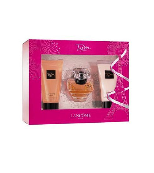 LANCÔME Trésor Fragrance 3-Piece Gift Set - Eurodeal.shop
