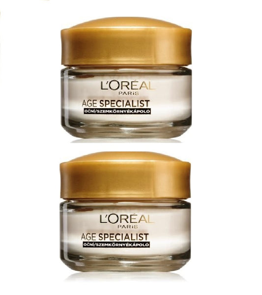 2xPack L'Oréal Paris Age Specialist 55+ Anti-wrinkle Eye Cream - 30 ml