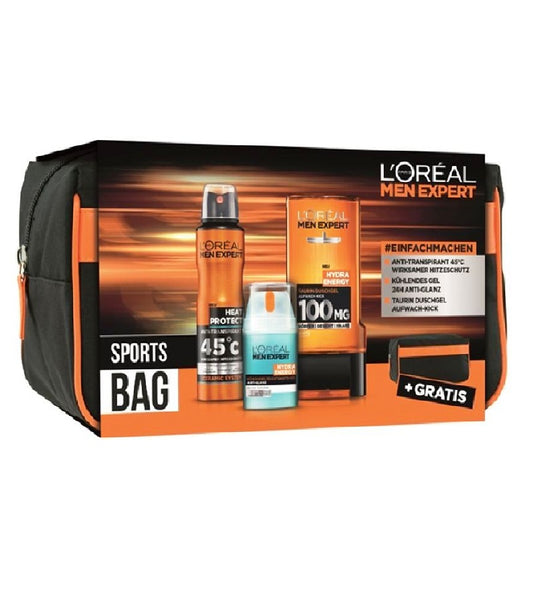 L'ORÉAL PARIS MEN EXPERT Sports-Bag 4-Piece Gift Set - Eurodeal.shop