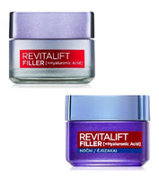 L'Oréal Paris Revitalift Filler Wrinkle-filling Anti-Aging Day & Night Cream Set - 100 ml