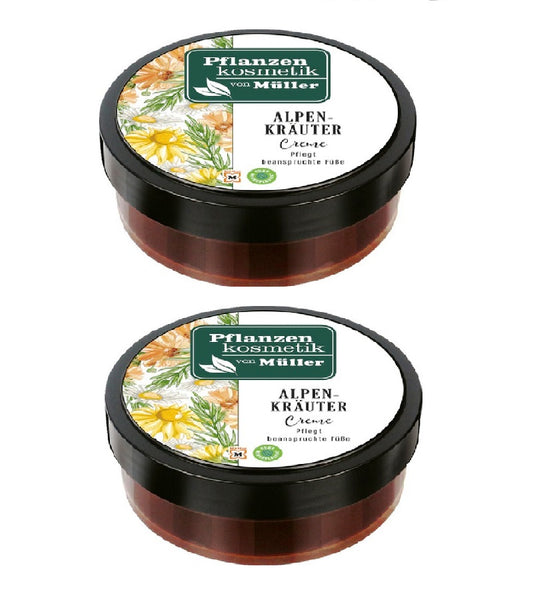 Müller Plant Cosmetic Alpine Herbs Cream - 100 ml - Eurodeal.shop