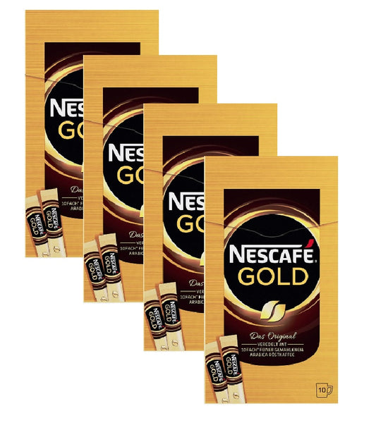 4xPack Nescafé Gold Instant Coffee - 40 Servings
